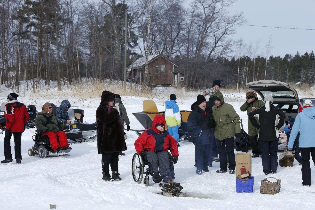 Simsalö Vinterdag